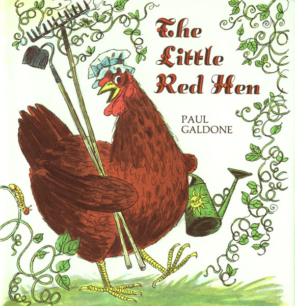 The Little Red Hen Big Book-9780618836840