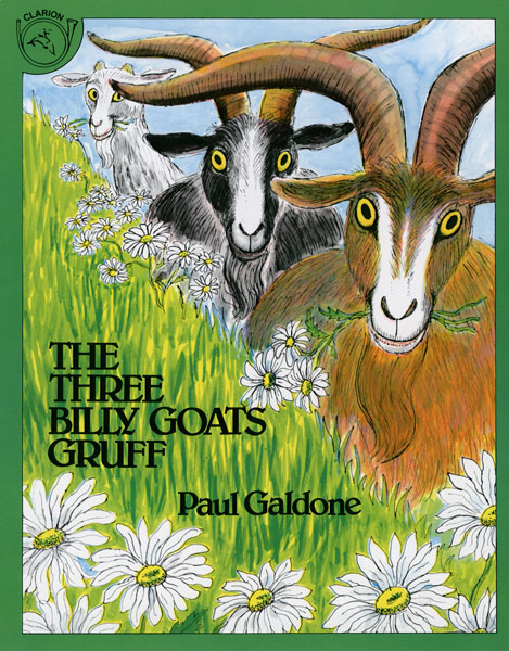 The Three Billy Goats Gruff Big Book-9780618836857