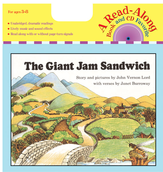 The Giant Jam Sandwich Book & CD-9780618839520