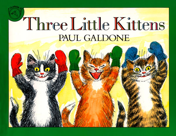 Three Little Kittens Book & CD-9780618852857