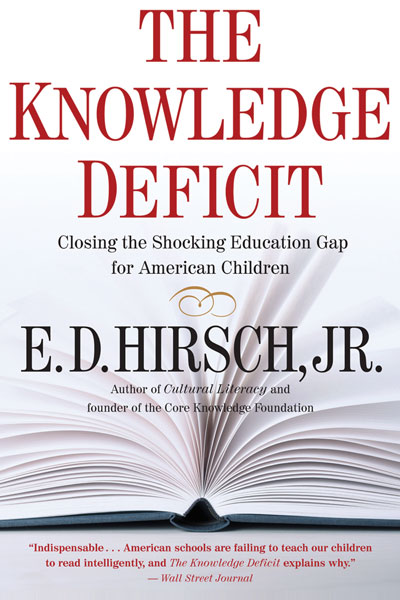 The Knowledge Deficit-9780618872251