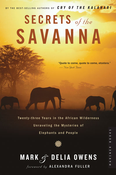 Secrets of the Savanna-9780618872503