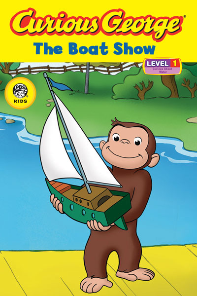 Curious George The Boat Show (CGTV Reader)-9780618891962