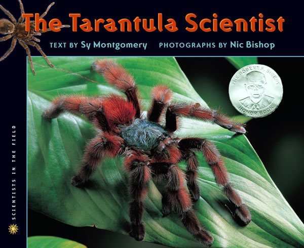 The Tarantula Scientist-9780618915774