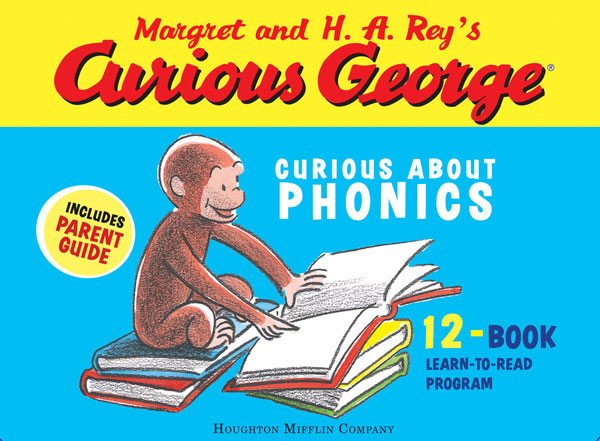 Curious George Curious About Phonics 12-Book Set-9780618956708