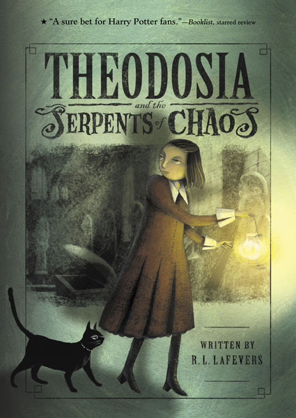 Theodosia and the Serpents of Chaos-9780618999767