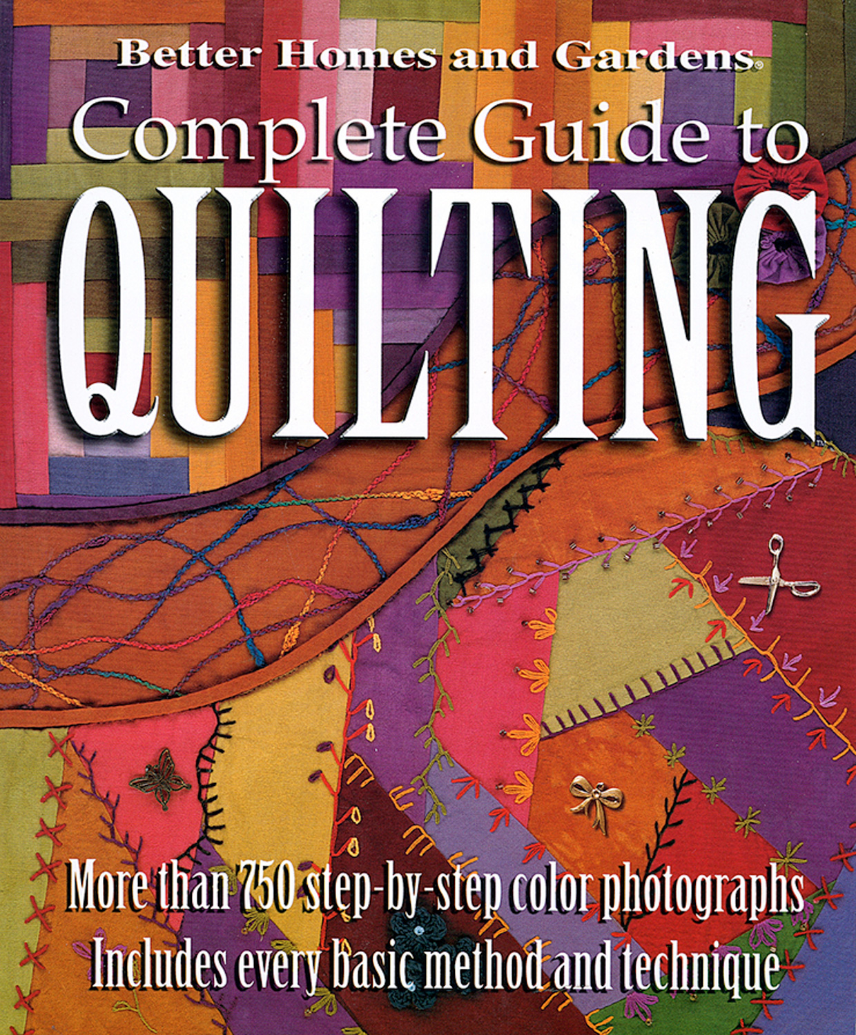 Complete Guide to Quilting (Better Homes and Gardens)-9780696218569