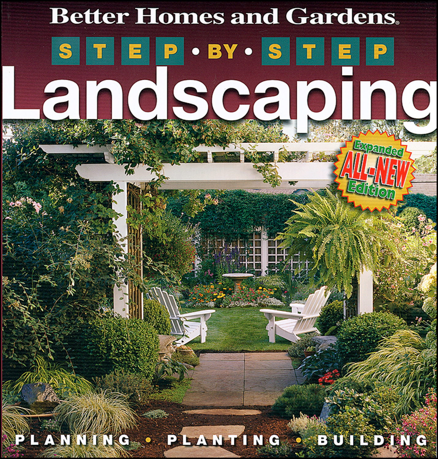 Step-by-Step Landscaping (2nd Edition)-9780696230820
