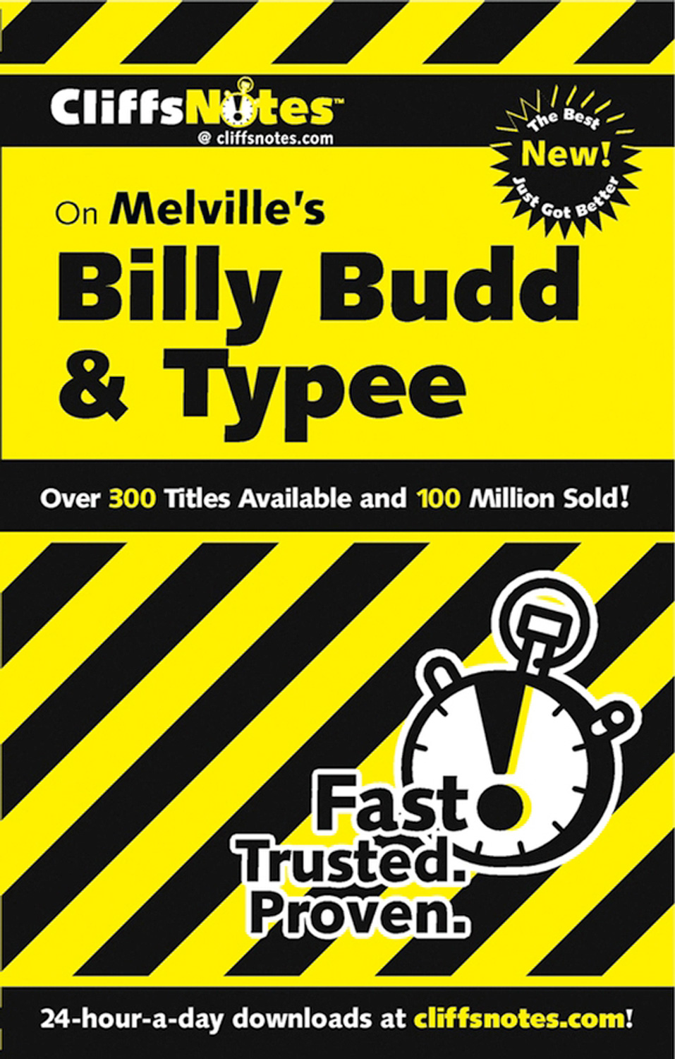 CliffsNotes on Melville's Billy Budd & Typee, Revised Edition-9780764539503