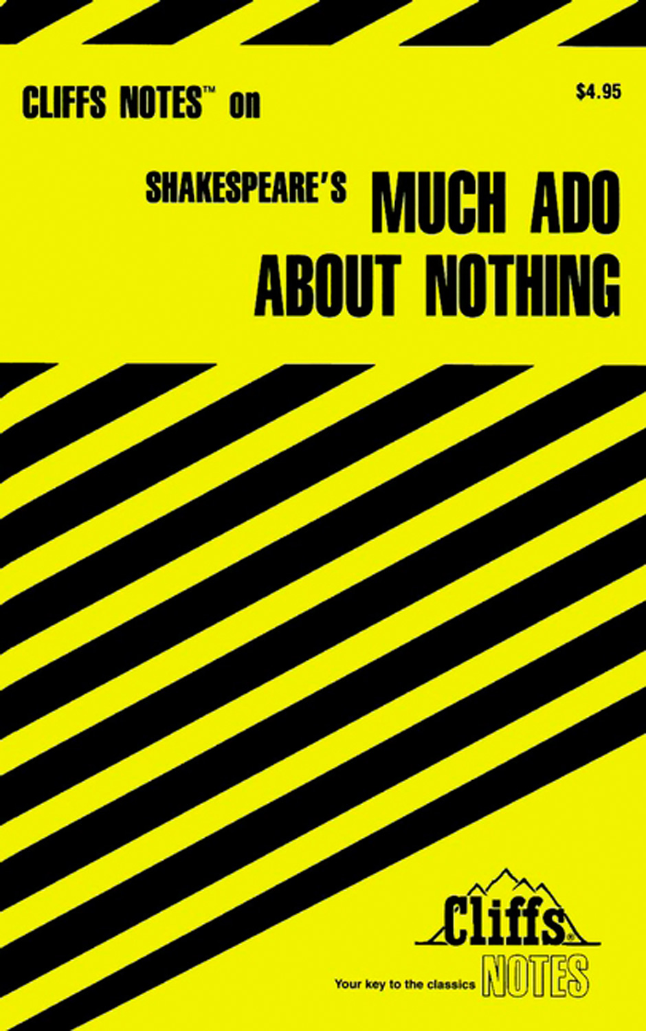 CliffsNotes on Shakespeare's Much Ado About Nothing-9780764585050
