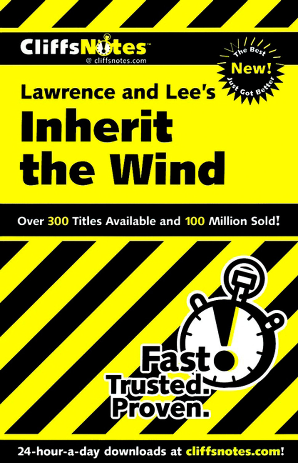 CliffsNotes on Lawrence & Lee's Inherit the Wind-9780764585548