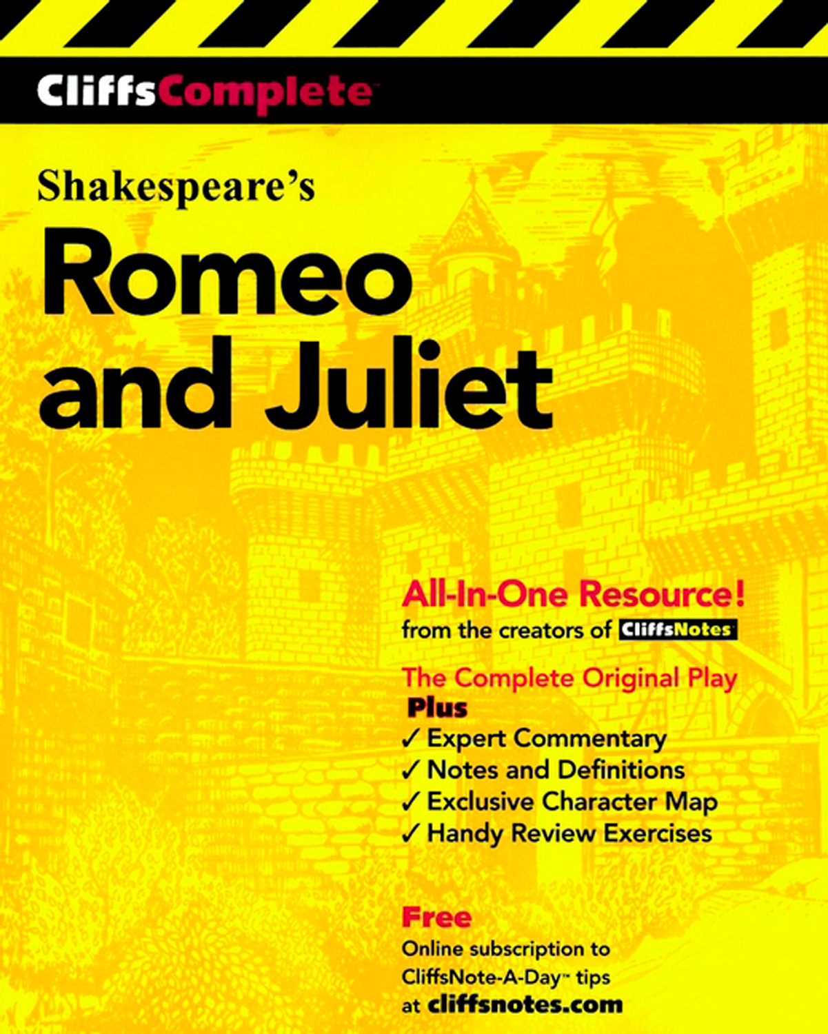 CliffsComplete Romeo and Juliet-9780764585746