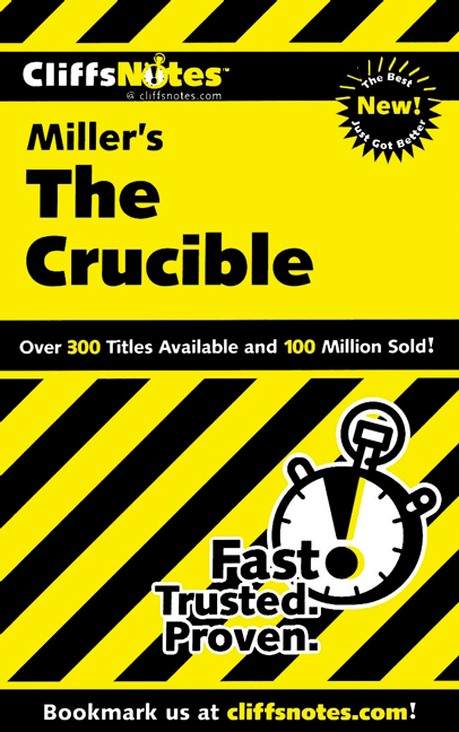 CliffsNotes on Miller's The Crucible-9780764585883