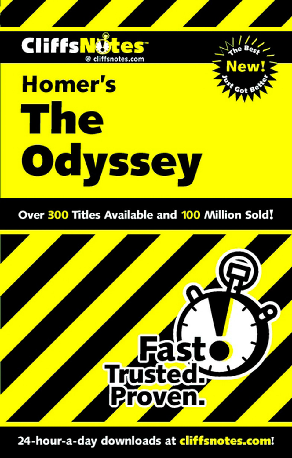 CliffsNotes on Homer's The Odyssey-9780764585999