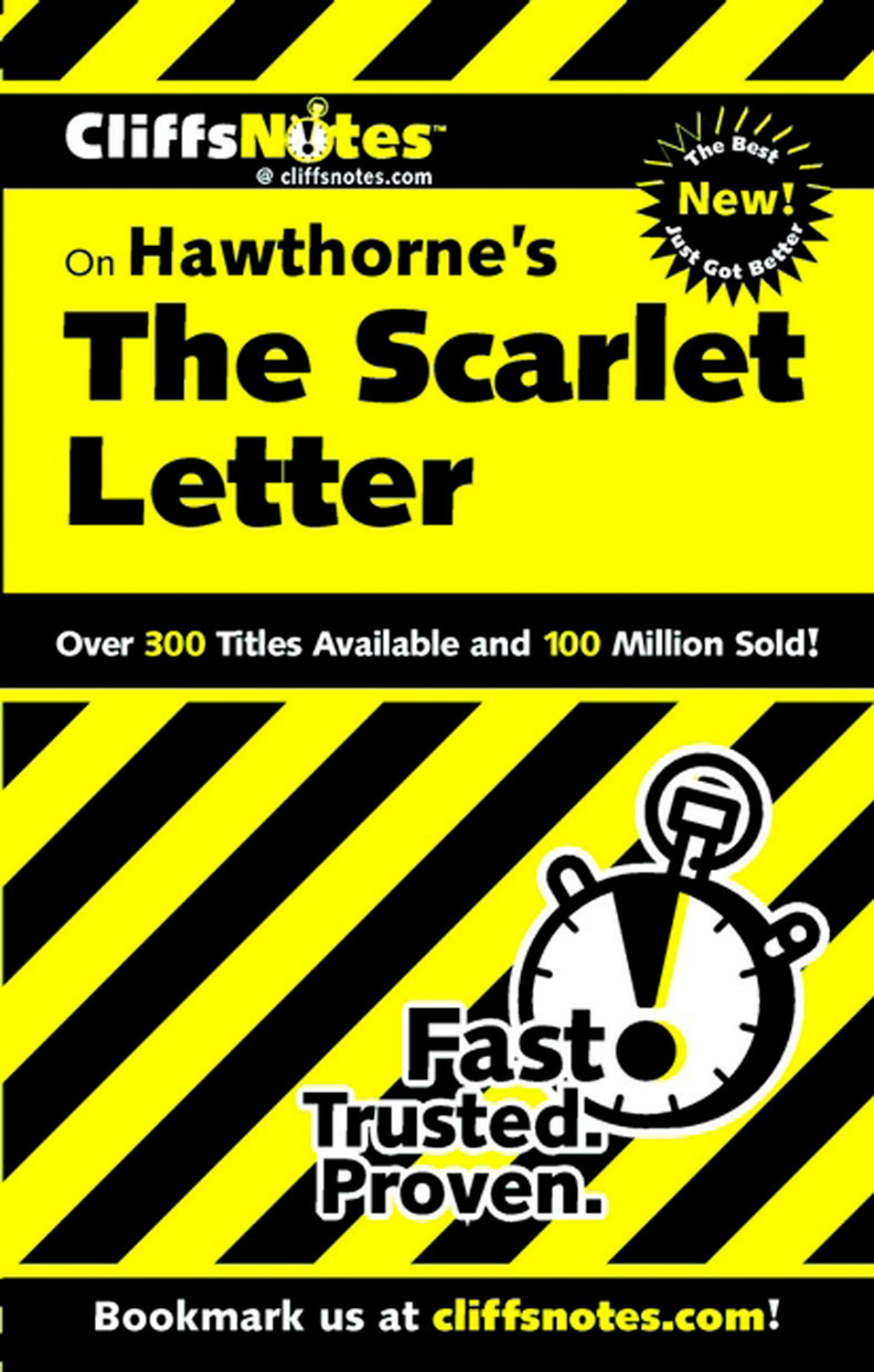 CliffsNotes on Hawthorne's The Scarlet Letter-9780764586057