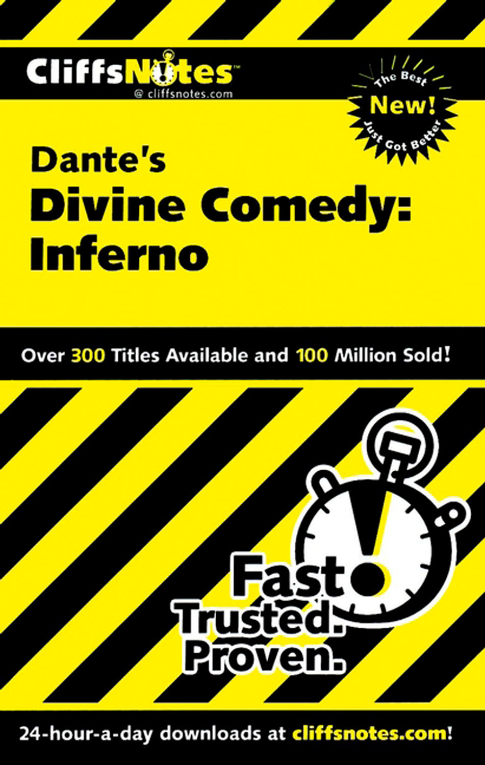 CliffsNotes on Dante's Divine Comedy-I Inferno-9780764586545