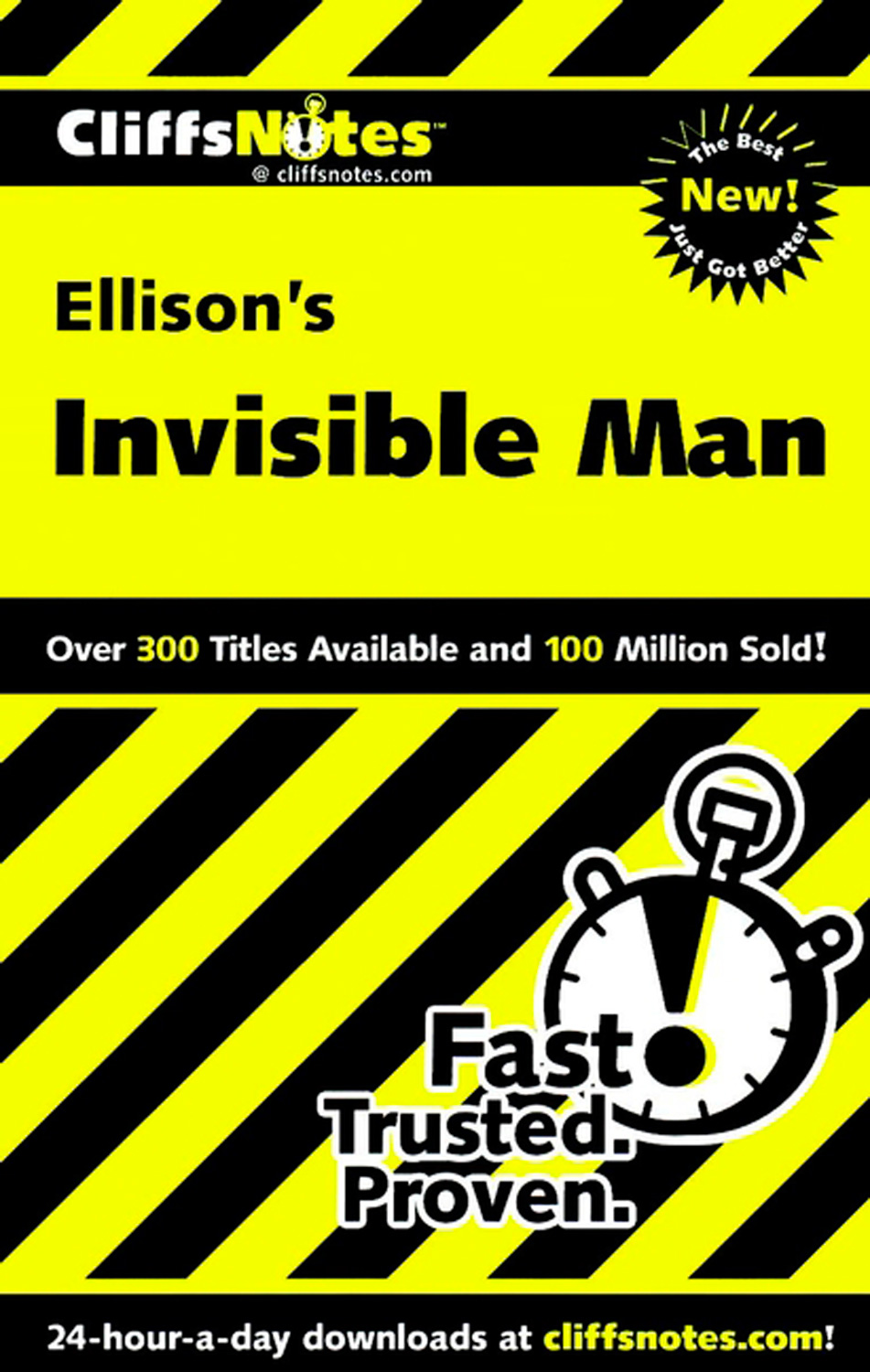 CliffsNotes on Ellison's Invisible Man-9780764586569