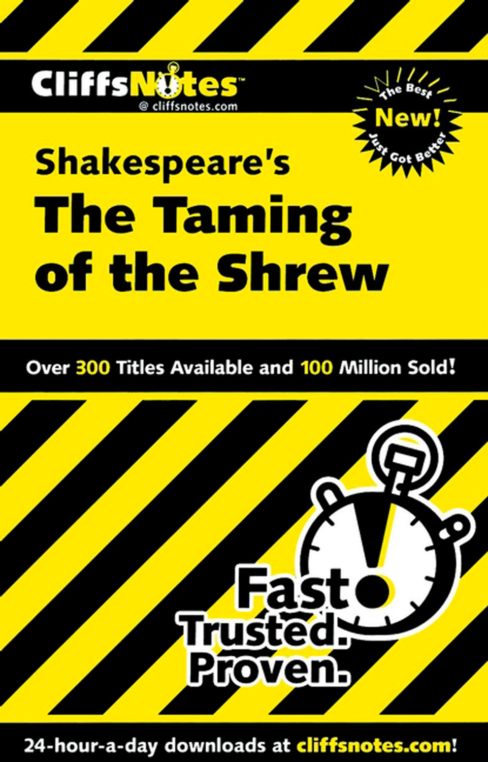 CliffsNotes on Shakespeare's The Taming of the Shrew-9780764586736