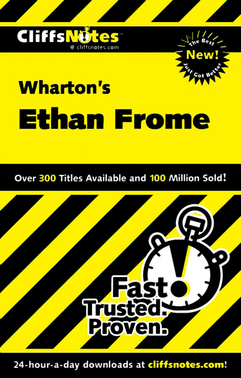 CliffsNotes on Wharton's Ethan Frome-9780764586811
