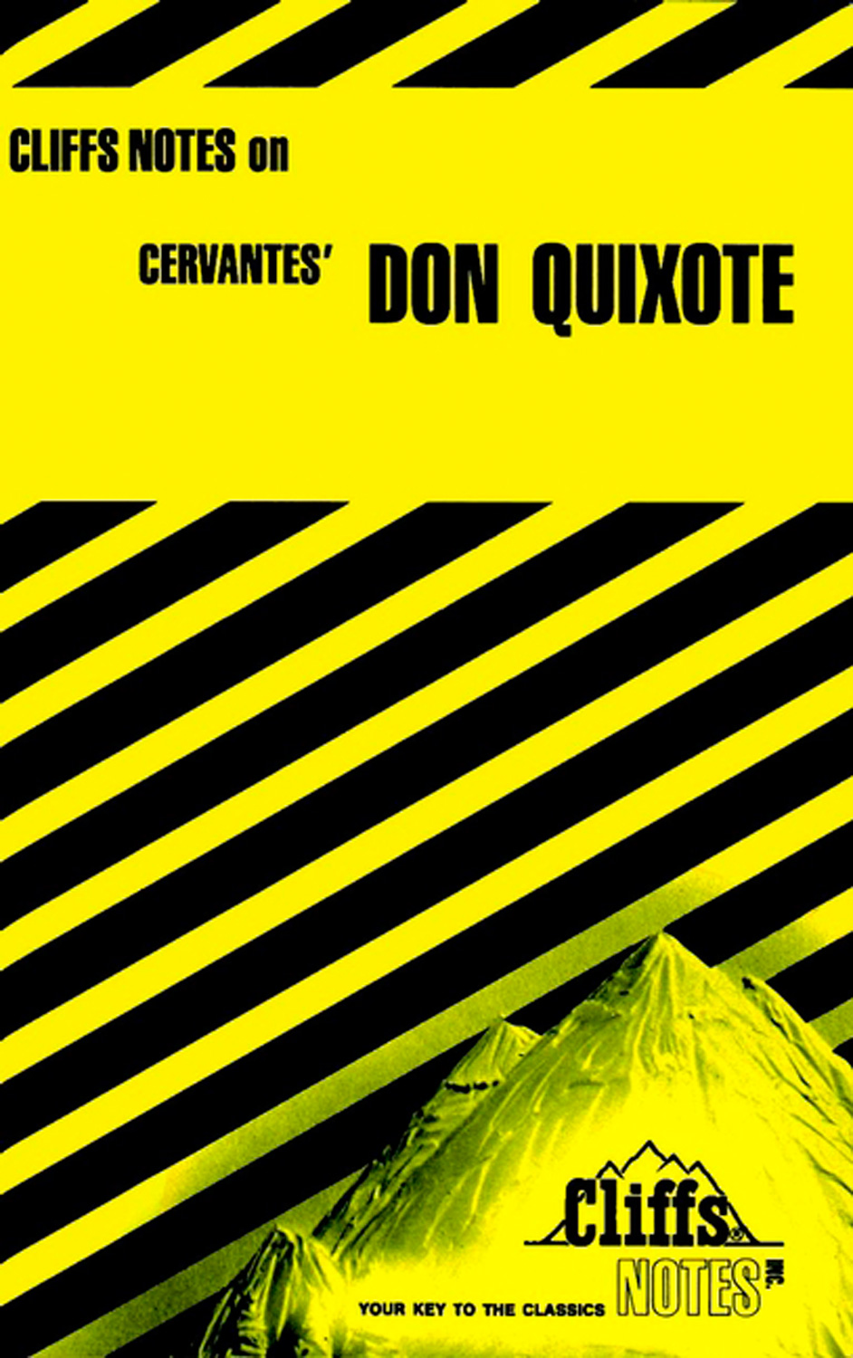 CliffsNotes on Cervantes' Don Quixote-9780822004158