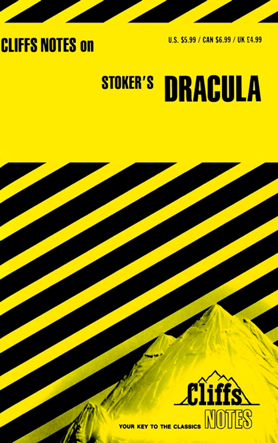 CliffsNotes on Stoker's Dracula-9780822004172