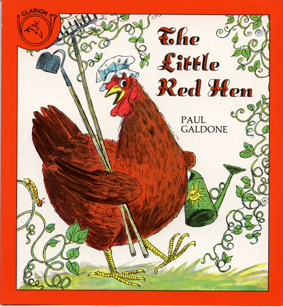 The Little Red Hen-9780899193496