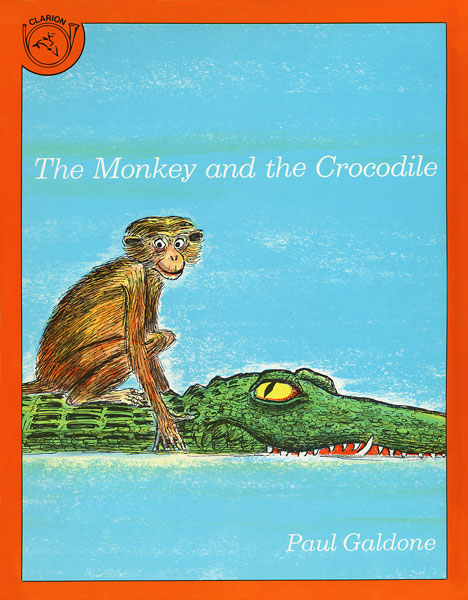 The Monkey and the Crocodile-9780899195247