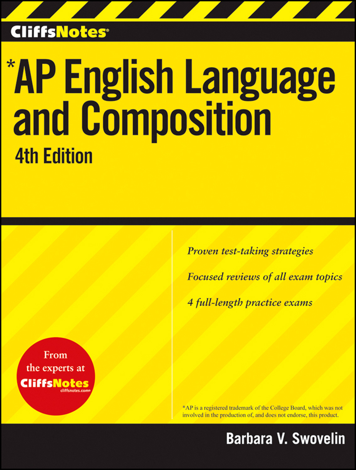 CliffsNotes AP English Language and Composition, 4th Edition-9781118128022