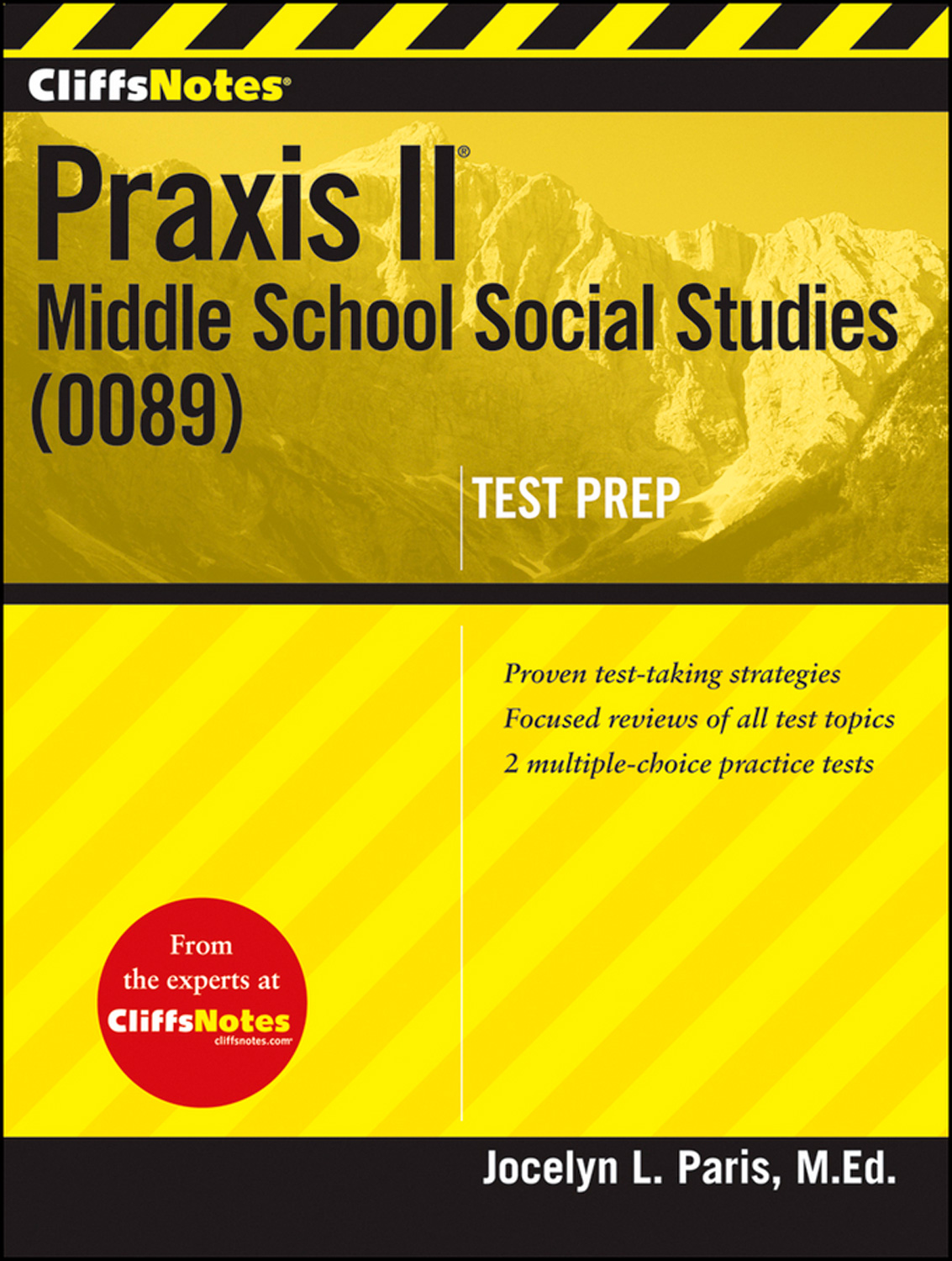 CliffsNotes Praxis II: Middle School Social Studies (0089)-9781118131183