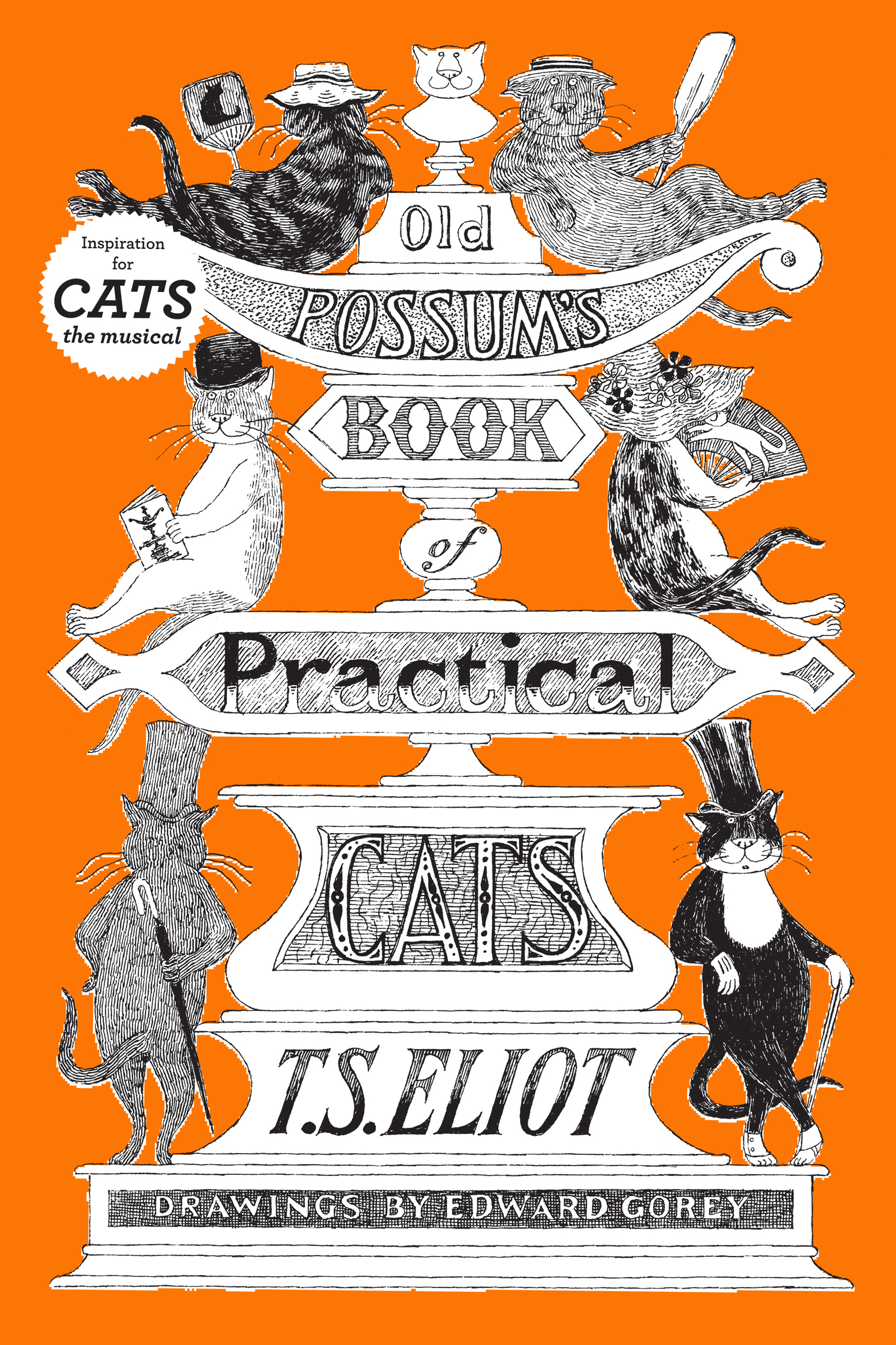 Old Possum's Book of Practical Cats, Illustrated Edition-9780151686568