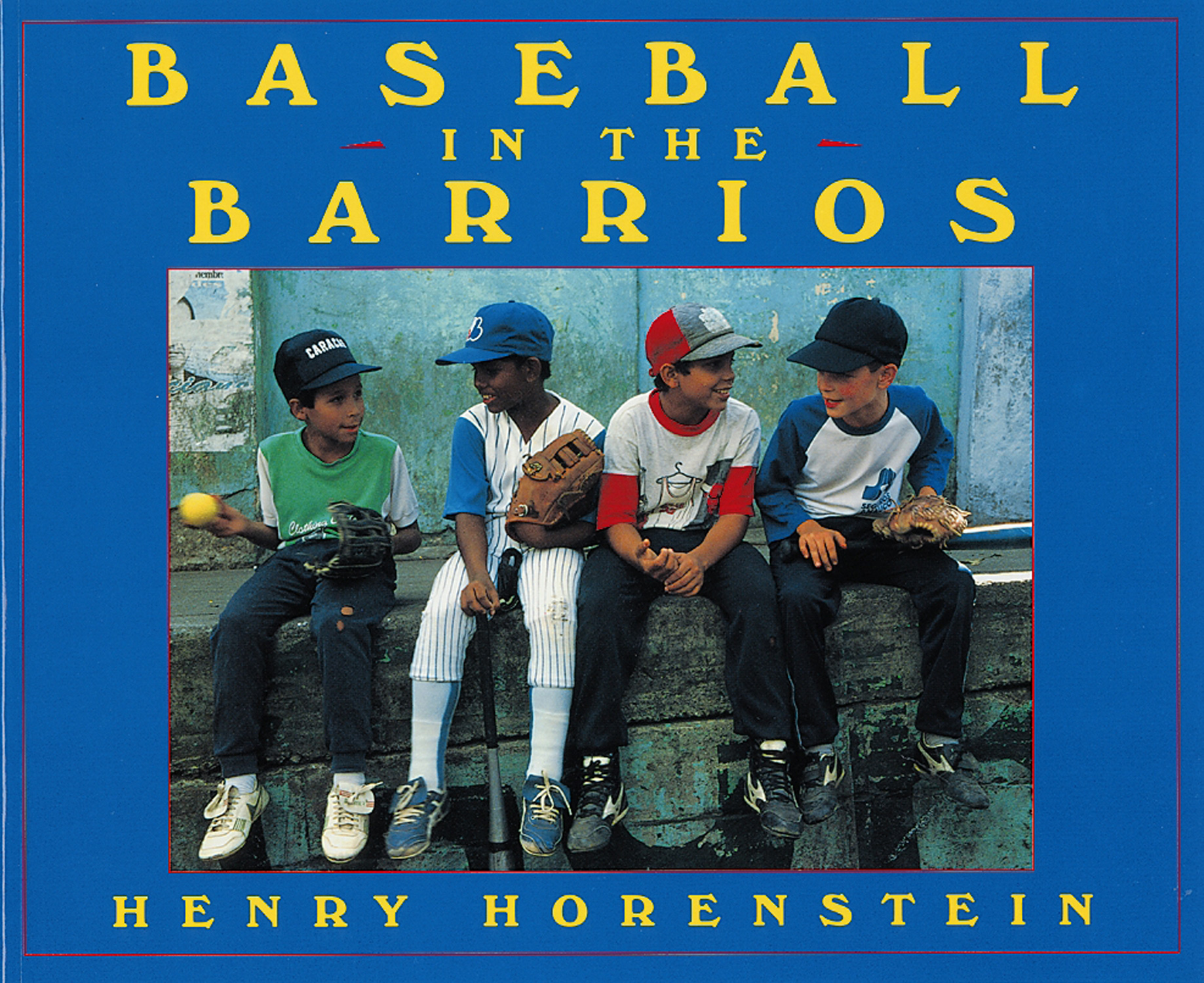 Baseball in the Barrios-9780152005047