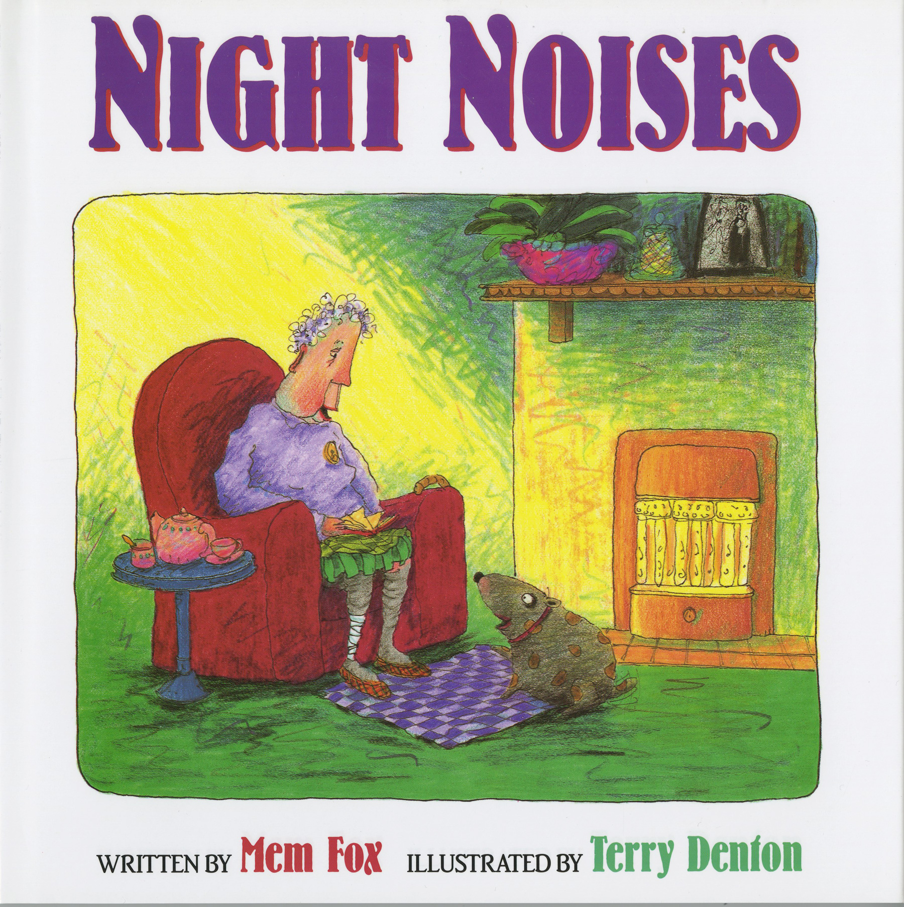 Night Noises-9780152005436