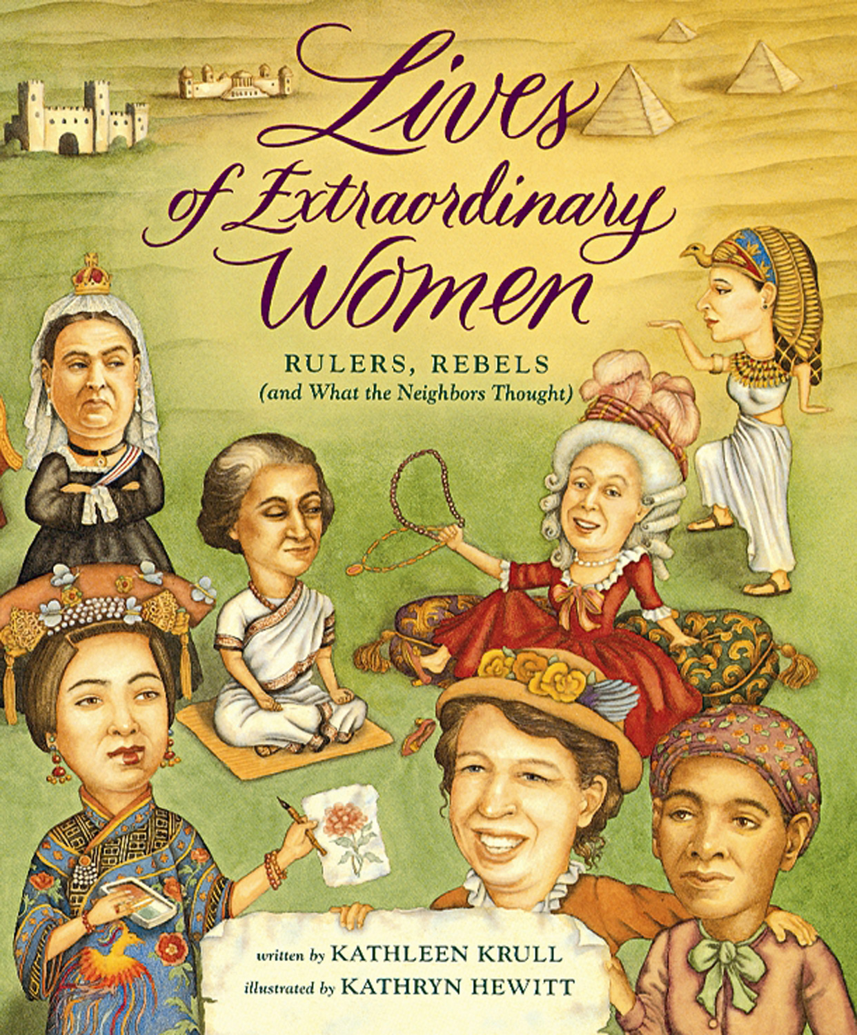Lives of Extraordinary Women-9780152008079
