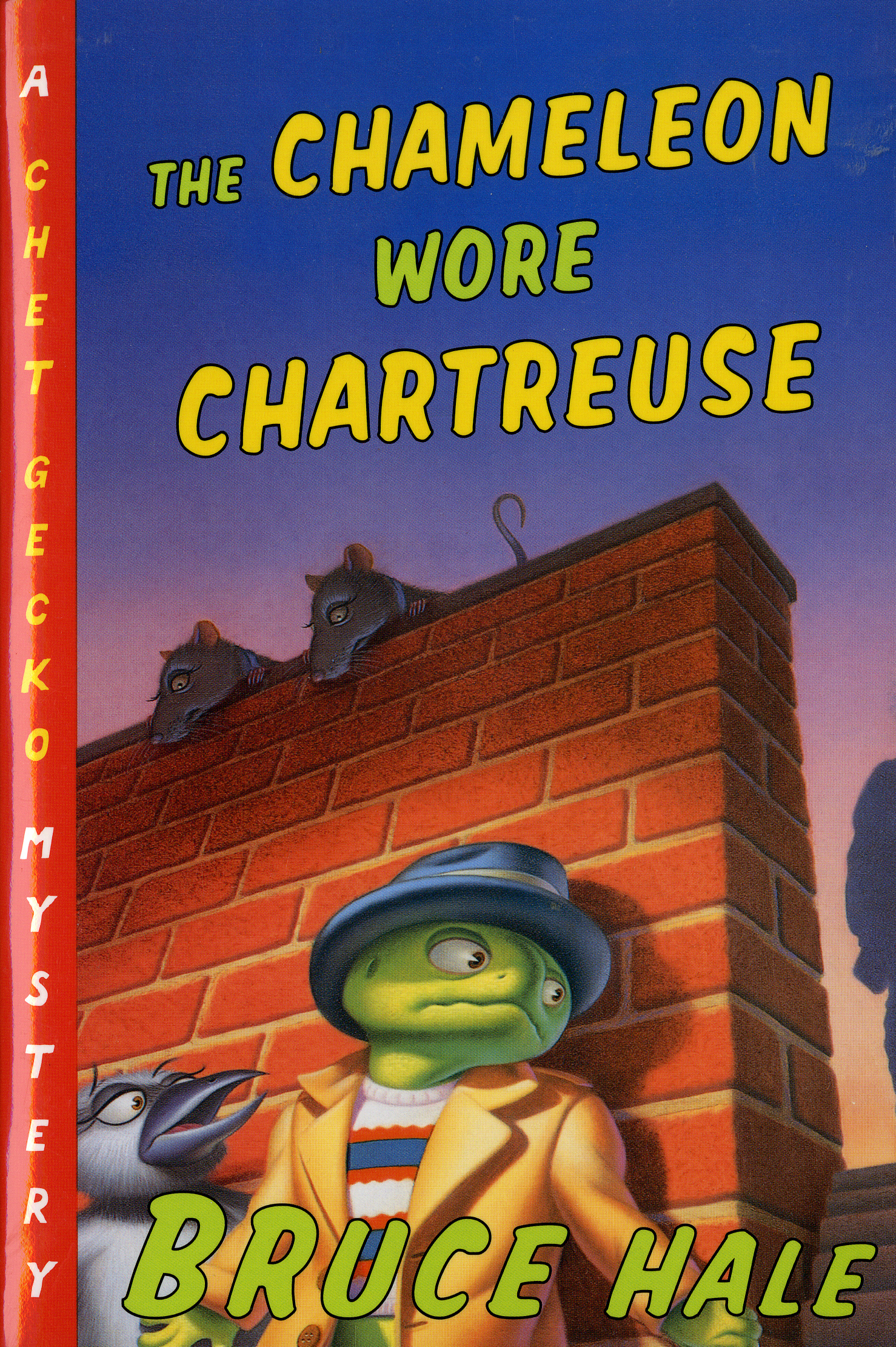 The Chameleon Wore Chartreuse-9780152024857