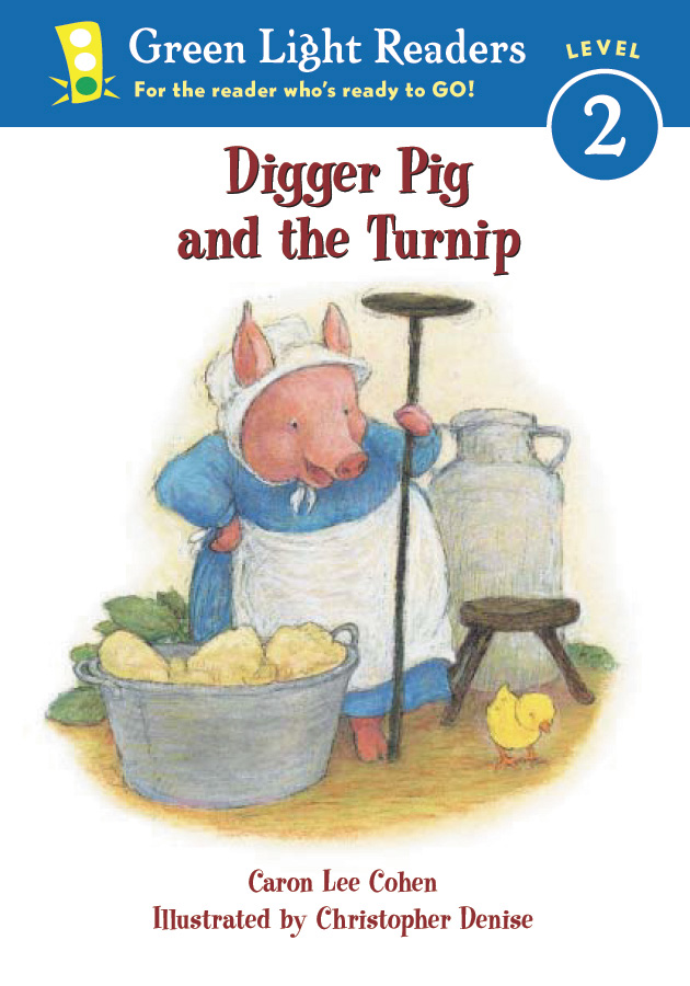 Digger Pig and the Turnip-9780152048297