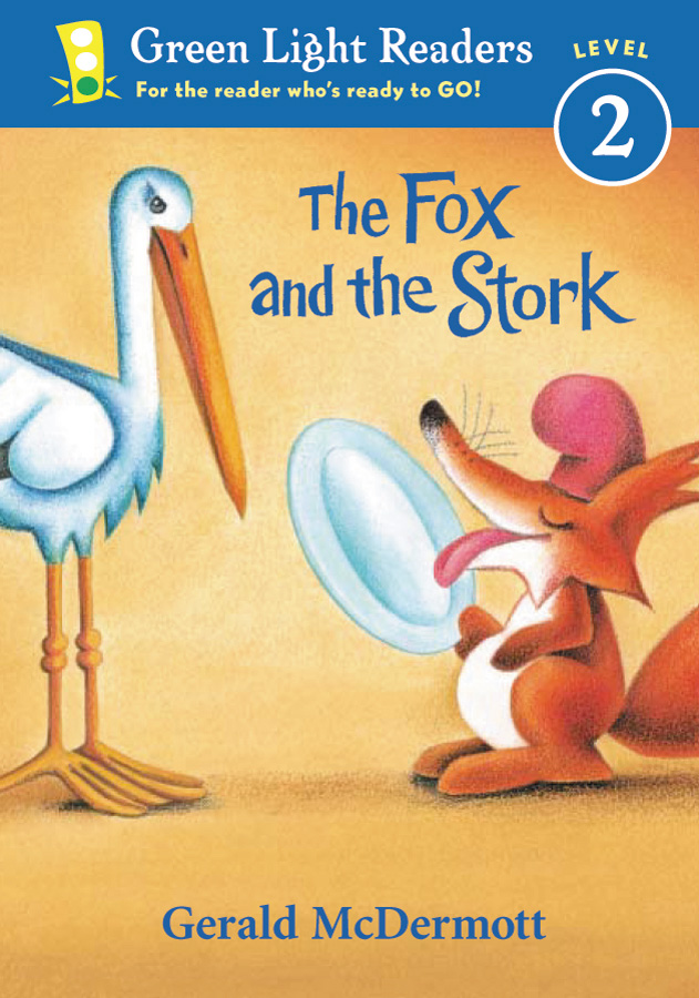 The Fox and the Stork-9780152048372