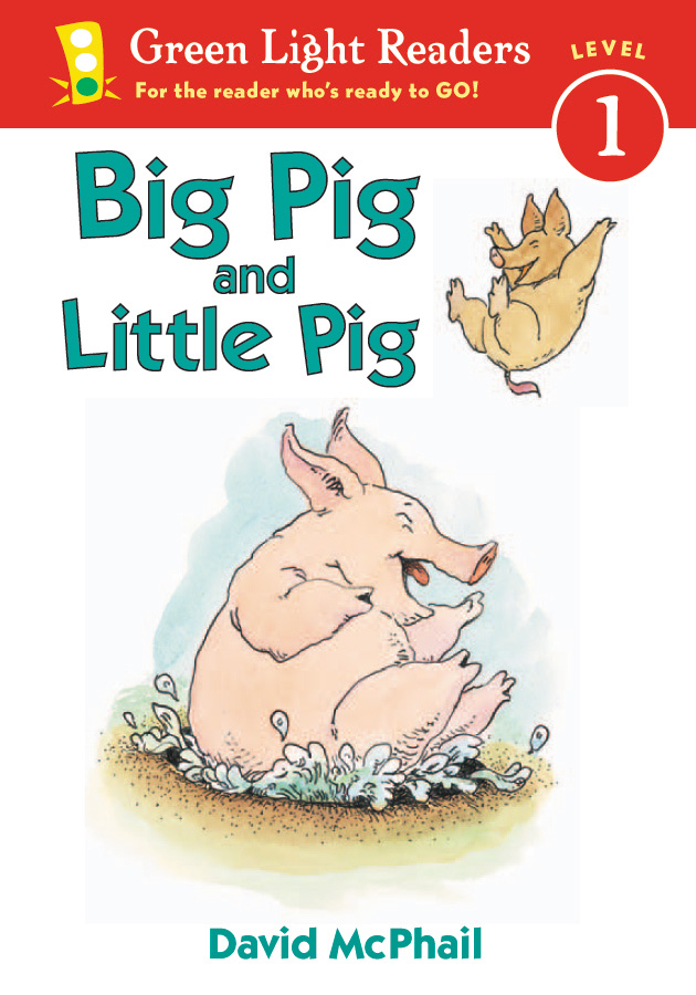 Big Pig and Little Pig-9780152048570