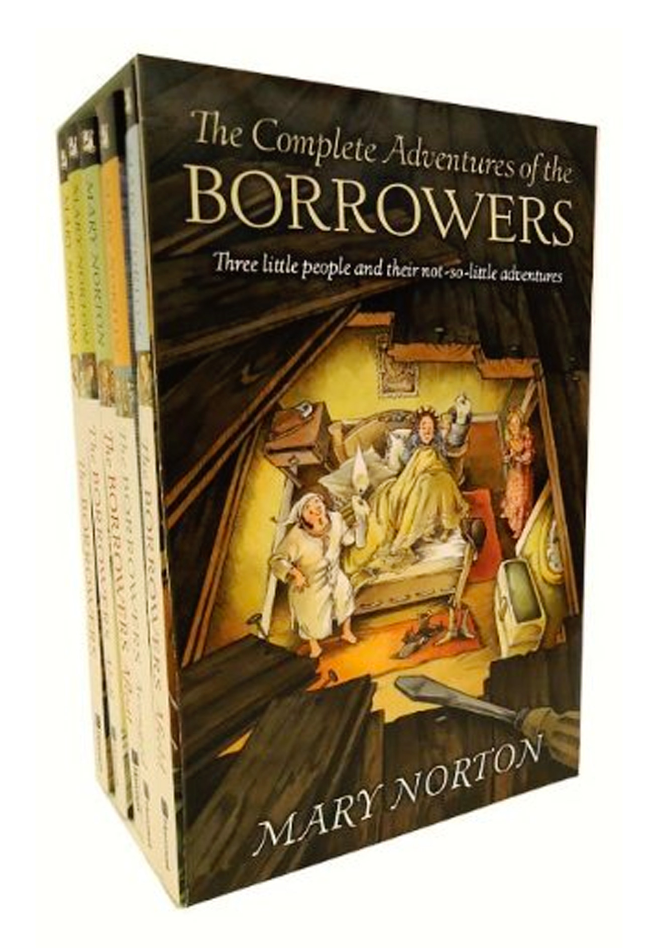 The Complete Adventures of the Borrowers-9780152049157