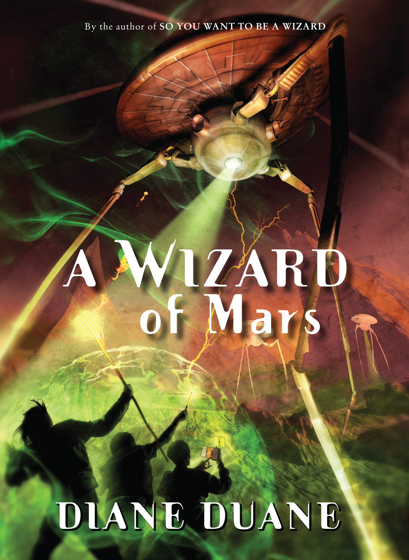 A Wizard of Mars-9780152054496