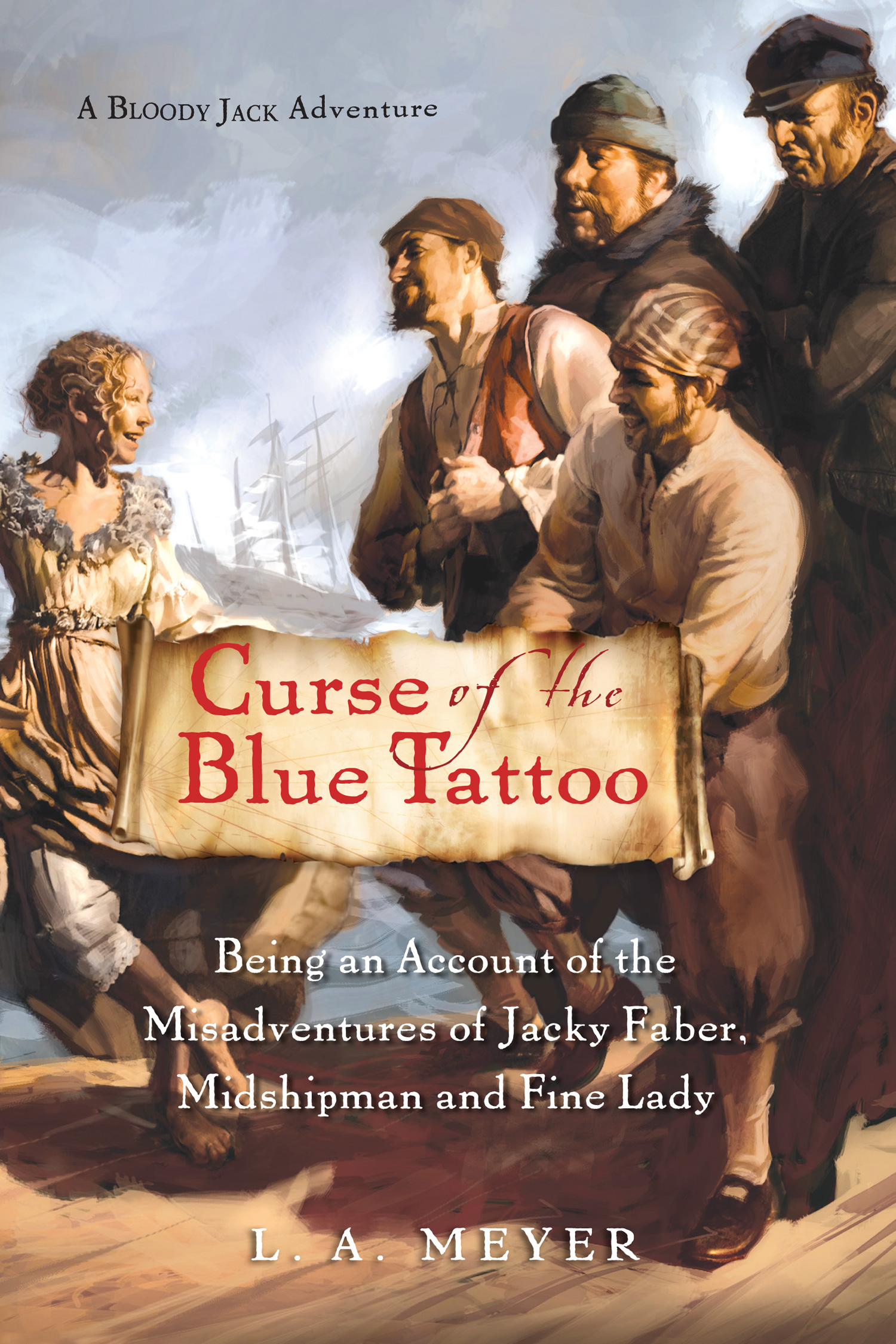Curse of the Blue Tattoo-9780152054595