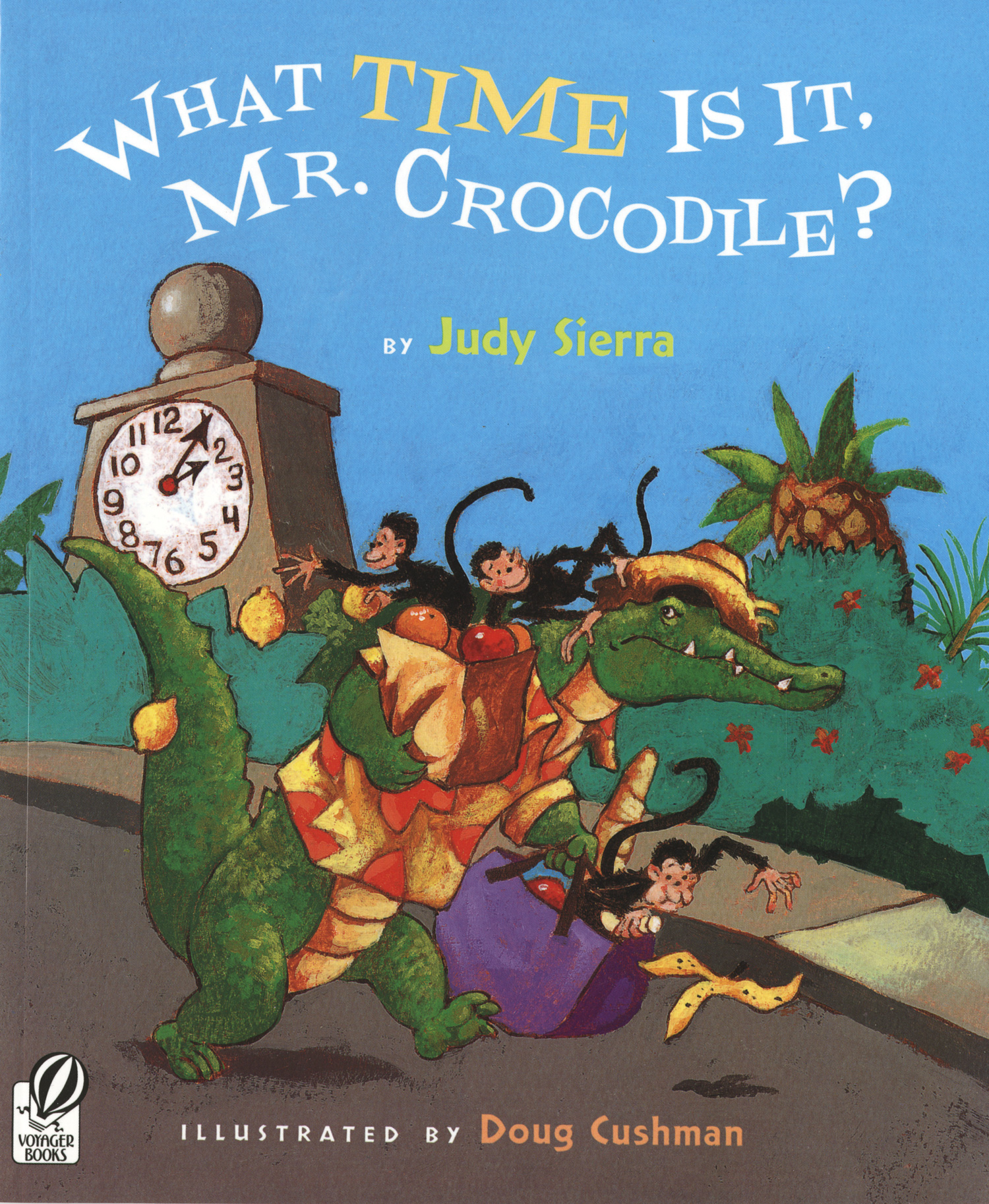 What Time Is It, Mr. Crocodile?-9780152058500