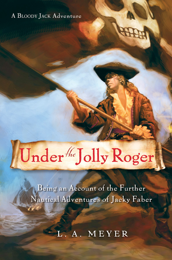 Under the Jolly Roger-9780152058739