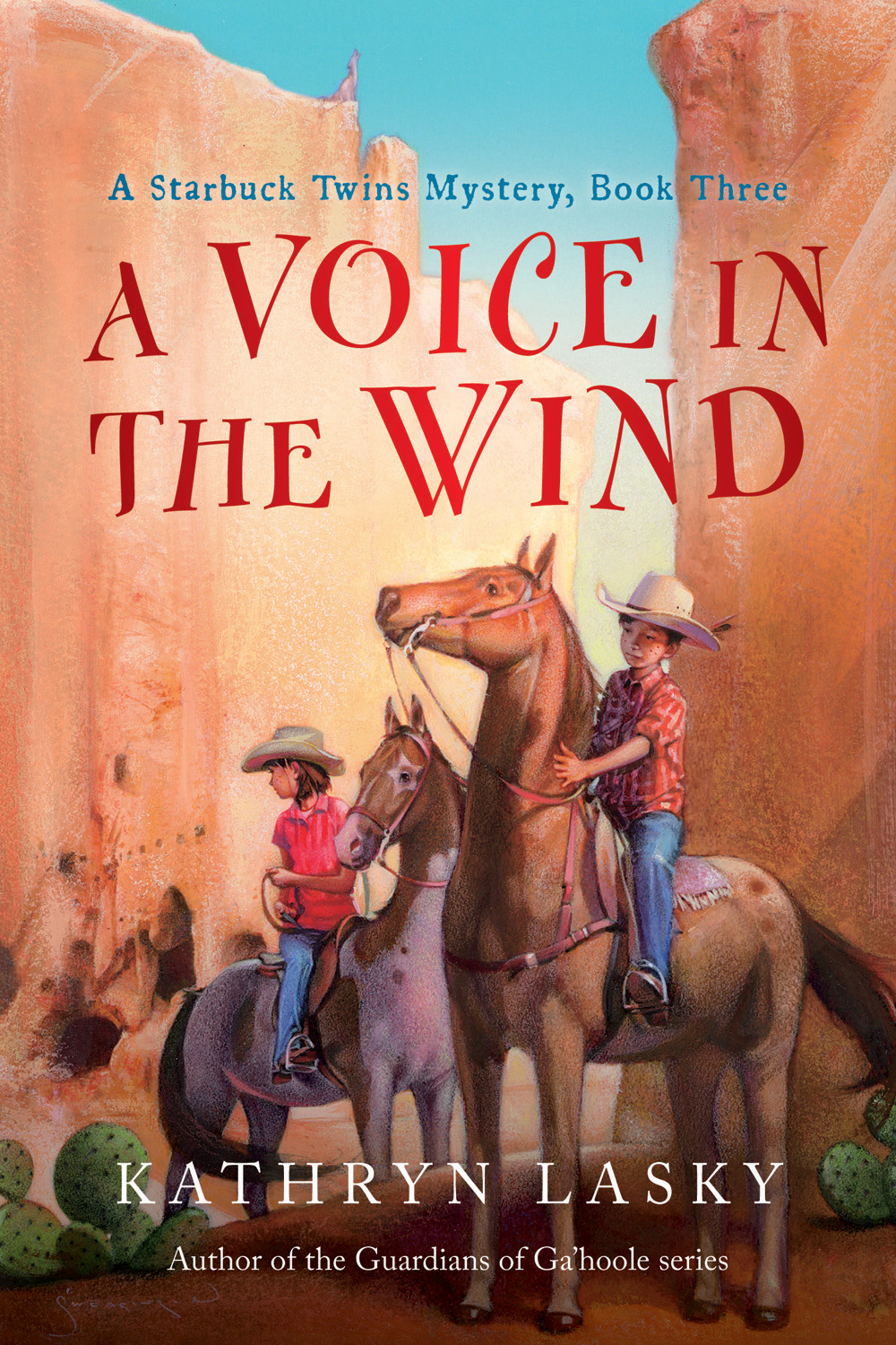 A Voice in the Wind-9780152058753