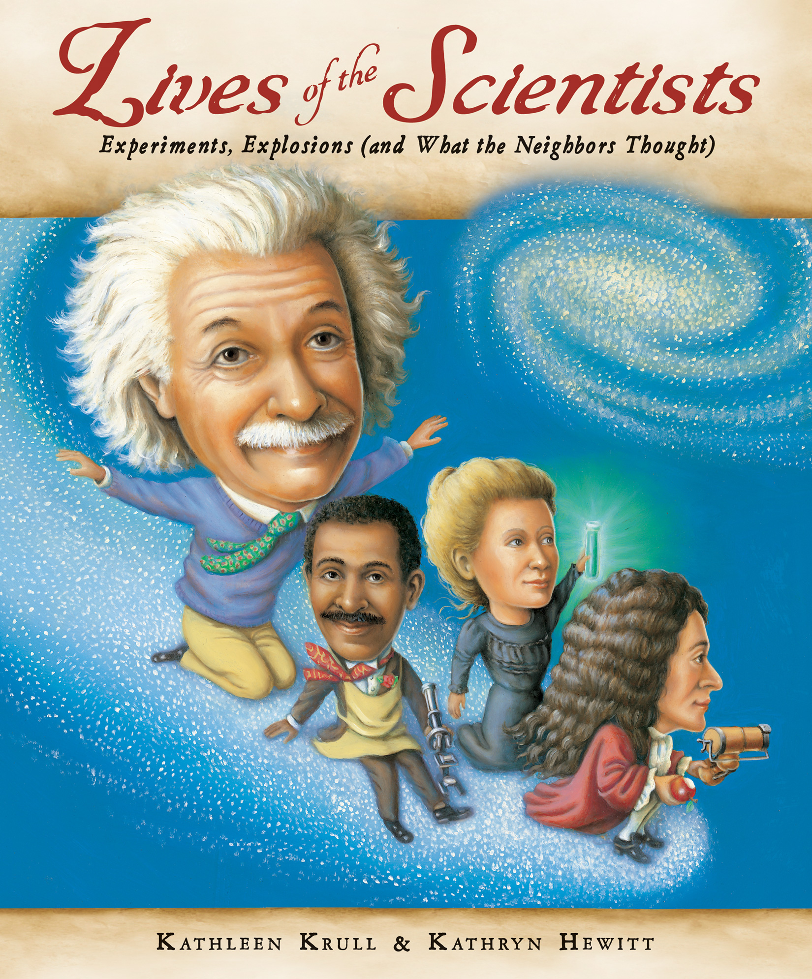 Lives of the Scientists-9780152059095