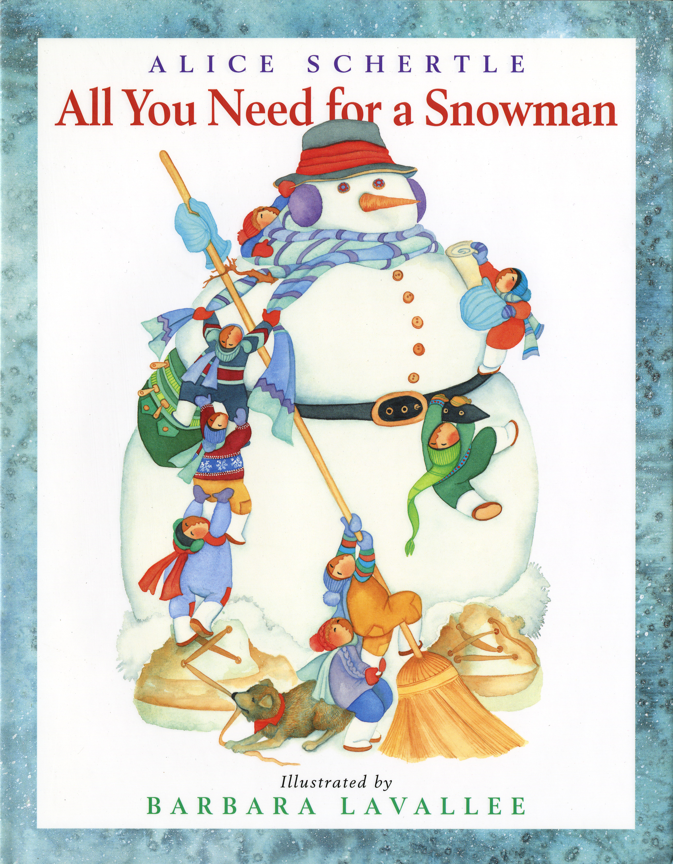 All You Need for a Snowman-9780152061159
