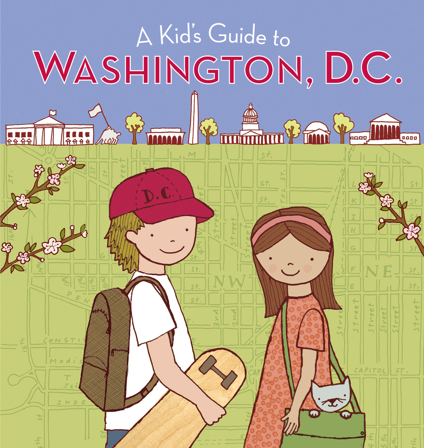 A Kid's Guide to Washington, D.C.-9780152061258
