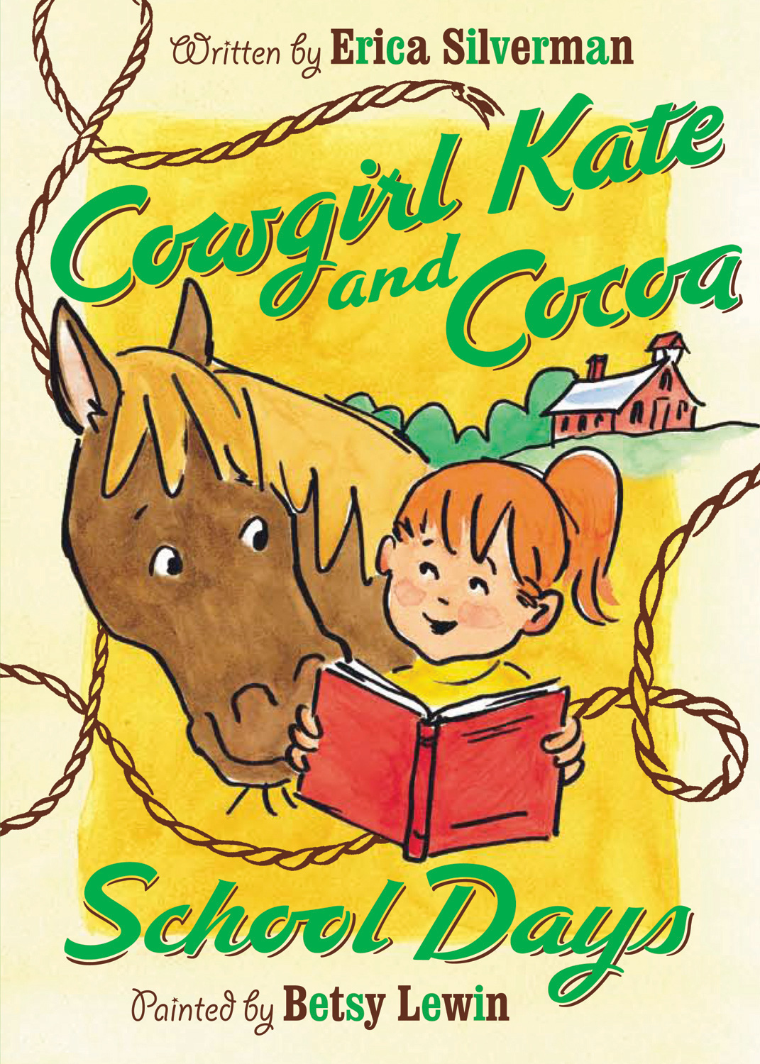 Cowgirl Kate and Cocoa: School Days-9780152061302