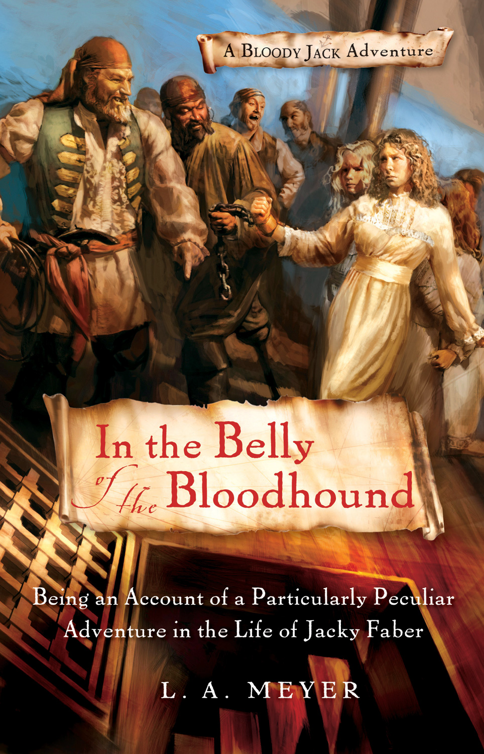 In the Belly of the Bloodhound-9780152061661