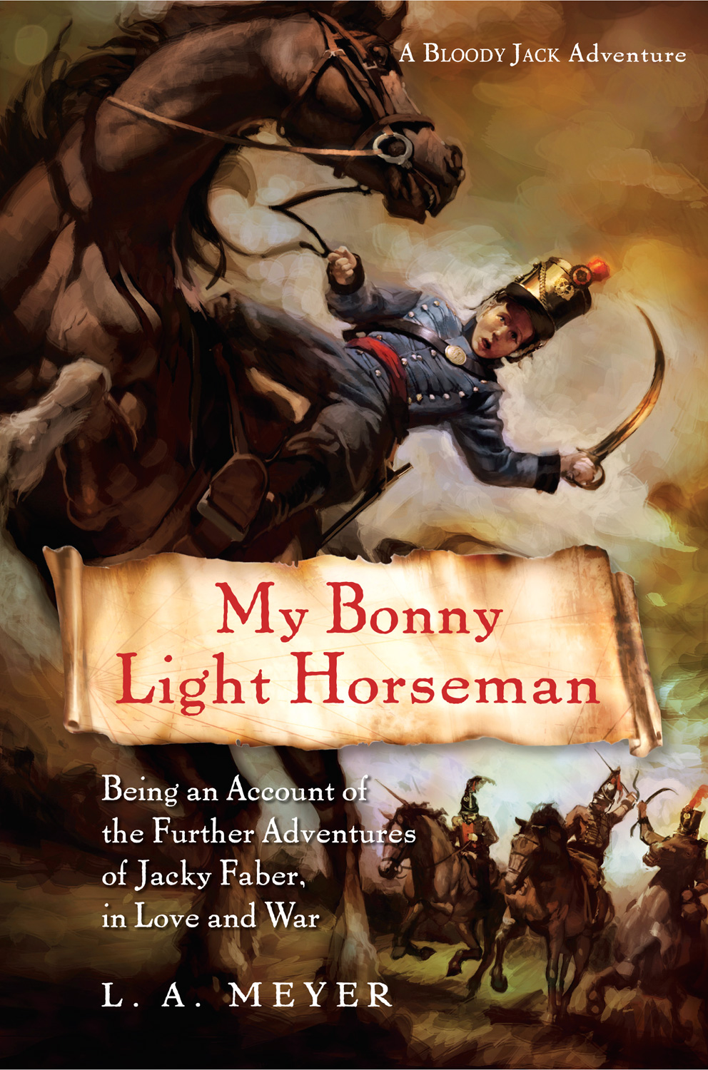 My Bonny Light Horseman-9780152061876