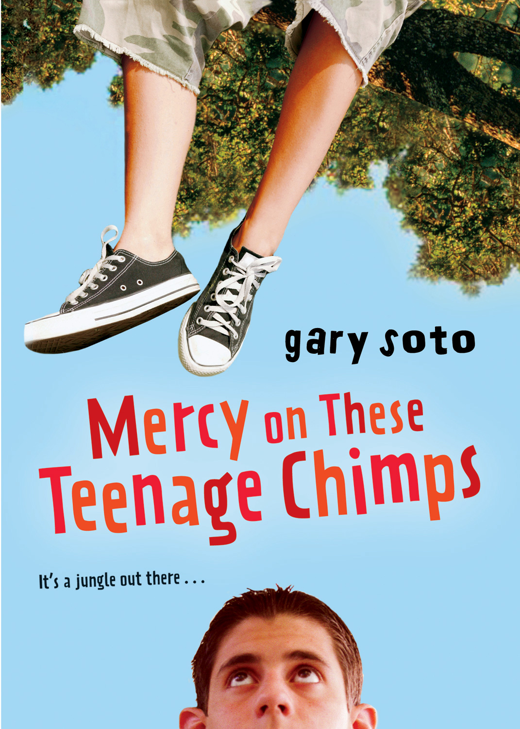 Mercy on These Teenage Chimps-9780152062156